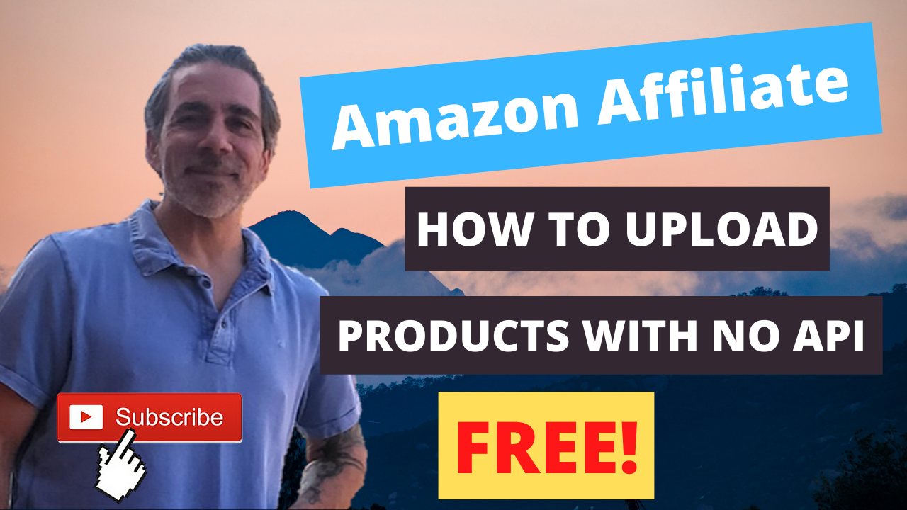 How to make Amazon affiliate website without API key